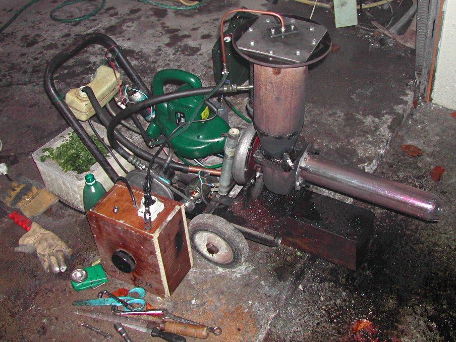 un turbor acteur fait maison gas turbine turbocompr sseur turbine gaz. Black Bedroom Furniture Sets. Home Design Ideas