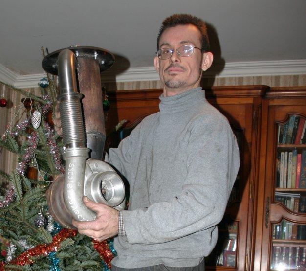 Un Turbor 233 Acteur Fait Maison Gas Turbine